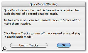 Quick Punch & Track Punch