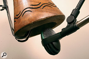 Q. How do you mic up a Djembe?