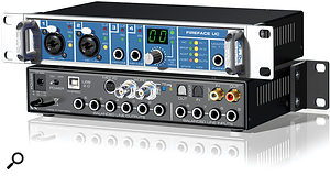 "USB 2.0 audio interfaces have lagged in popularity behind Firewire models, but this could change with the introduction of RME's new Fireface UC and its ""revolutionary ultra‑low latencies""."