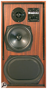 High‑quality vintage hi‑fi such as these KEF speakers can be aviable option for home studio monitoring.