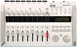 Modern digital recorders such as the Zoom R16, which is capable of recording eight tracks of 24‑bit audio at a time, can be very suitable for live multitrack recording.