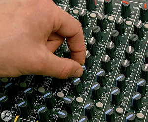 If, when using aux controls to create foldback mixes, you find that some sources fold back and others don't, it's probably a level issue — and solving your problem requires some methodical sleuth work!