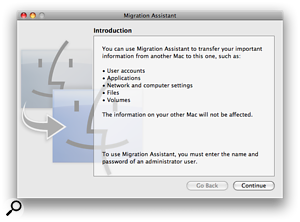 If your new Mac is already set up, Migration Assistant will copy across all applications, libraries, preferences and so on from the backup of your old Mac.