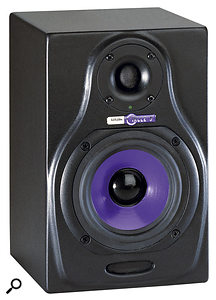 These HHB Circle 3 monitors might look the same, but this one is active and the one above is passive.