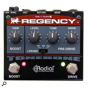 Radial Regency Pre-Drive Boost & Drive Pedal.