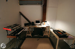 One of the eight studio areas created for the Academy.