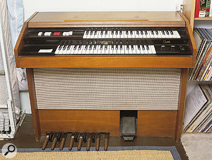 For when software is not enough: the Hammond Cadette bought for just £40.