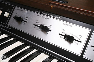 One of the most important String Symphonizer parameters was Animation, which introduced vibrato to the first oscillator band. The instrument also featured an internal spring reverb.