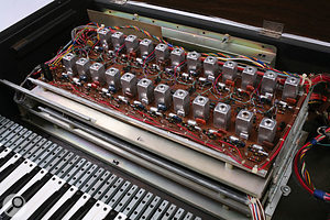 With only two master oscillators, the String Symphonizer was a cut-down design compared with Ken Freeman's Prototypes #2 and #4.