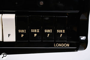 The four extra stops on the Concert model introduced sub-oscillation into the mix.