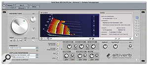 The leaps in computer processing power during the last few years mean that reverb convolution processing has become increasingly available in the form of plug-ins such as Audio Ease Altiverb.