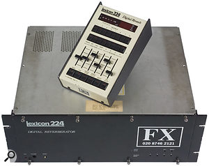 The most famous of the digital reverb manufacturers is probably Lexicon, who defined the pop reverb sound of the day with their 224 model.