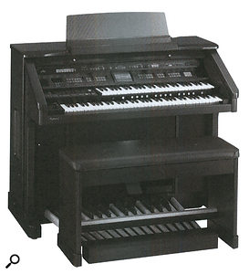 The first Roland Atelier organ, the AT70.