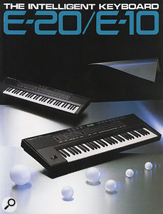 Sample-based synthesis technology permitted the development of a new wave of intelligent arranger/auto-accompaniment keyboards in the late 1980s. Roland were far from the only players in this market, but the E10 and E20 were two of the first.