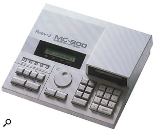 Sturdy, quick to use and reliable, the MC500 was the hardware sequencer of choice for many mid-to-late-'80s keyboard players.