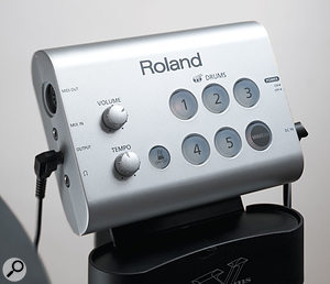 The HD1's Brain enjoys a particularly simple set of controls and connections.
