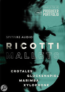 Spitfire Audio Ricotti Mallets cover artwork.