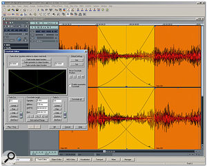 Although it's not as sophisticated as that of its big brother Sequoia, Samplitude's Crossfade Editor is still a powerful tool.