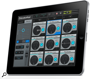 ScratchPad app for iPad from Cakewalk