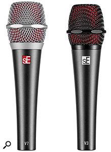 sE Electronics V3 & V7 vocal microphones.