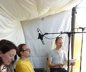 Session Notes: Recording An Audiobook