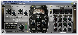 The VC64 Vintage Channel plug-in.