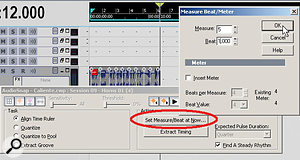 When the loop was a Groove clip, it lasted four measures. Turning off looping causes the file to last over six measures (note the Now time position), meaning that it's slower than the project tempo. Converting it into an Audiosnap clip lets you match the tempo to the file length.