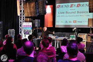 Live Sound Basics at Sound Technology's Pro Audio demo facility