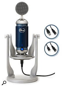 Blue Spark Digital microphone now with Lightning connector