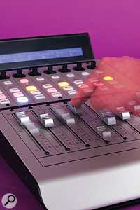 Hardware control surfaces offer various benefits over mixing with a mouse, especially for inputting mix automation.
