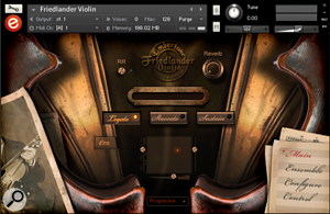 Friedlander Violin GUI