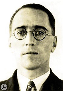 Alan Blumlein, the 'Godfather' of modern stereophonic reproduction.