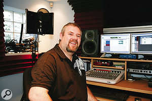 After months of frustration with his studio setup, Michael Harvey is smiling once again!