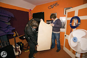 Real Traps' Ready Traps provide a good, cost-effective approach to acoustic treatment, making use of standard thick Rockwool panels that are available from most DIY stores.