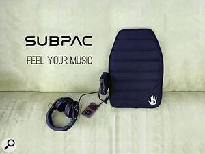 Subpac tactile audio technology