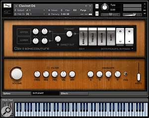 Soniccouture Clav virtual instrument