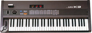 One of the author's favourite synths of all time: the Kawai K3.