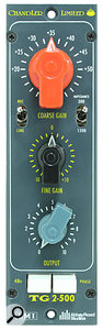 Chandler TG2-500 mic preamp and DI