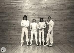 Todd Rundgren's Utopia, 1980: Todd Rundgren, Willie Wilcox, Kasim Sulton and Roger Powell.
