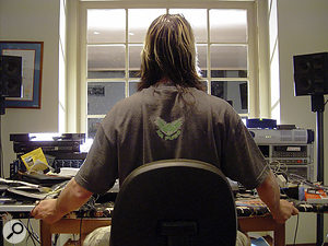 Since moving to Hawaii several years ago, Todd Rundgren has not had a permanent studio, and has worked by setting up his computer-based recording rig in various rented houses and holiday homes.