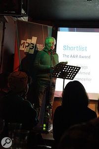 Tony Platt making the MPG Awards 2014 Shortlist Announcement