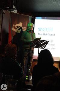 Tony Platt making the MPG Awards 2014 Shortlist Announcement