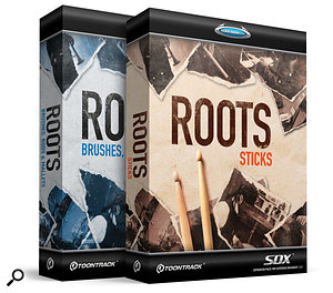 Toontrack | Roots Sticks & Roots Brushes, Rods & Mallets
