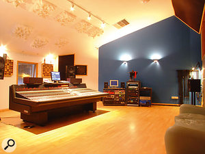 The control room at Martian Engineering is built around a Neve VR desk.