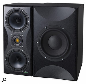 The BABE is designed to be partnered with Unity Audio's Rock II monitor (as pictured, left).