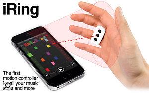 iRing from IK Multimedia brings gesture control to iOS