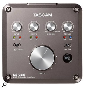 Tascam US366 audio interface