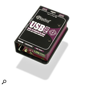 Radial Engineering USB-Pro DI box