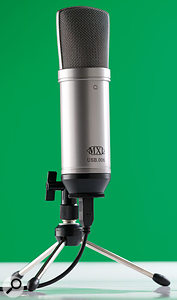 The MXL mic has three gain positions, which means you're more likely to be able to optimise the recording level than with the other mics.