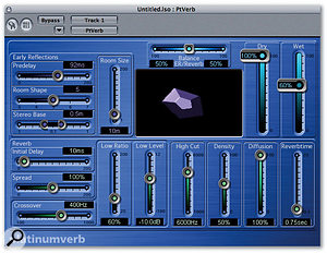 With a bit of lateral thinking you can use Logic's Platinumverb to create a John Lennon-style double-tracked vocal.